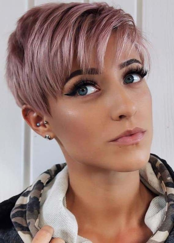 Best Ever Short Pixie Haircuts For Girls To Create In 2019 Primemod Short Hair Styles Pixie Thick Hair Styles Girls Pixie Haircut