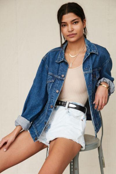 Urban Renewal Vintage Denim Jacket - Urban Outfitters