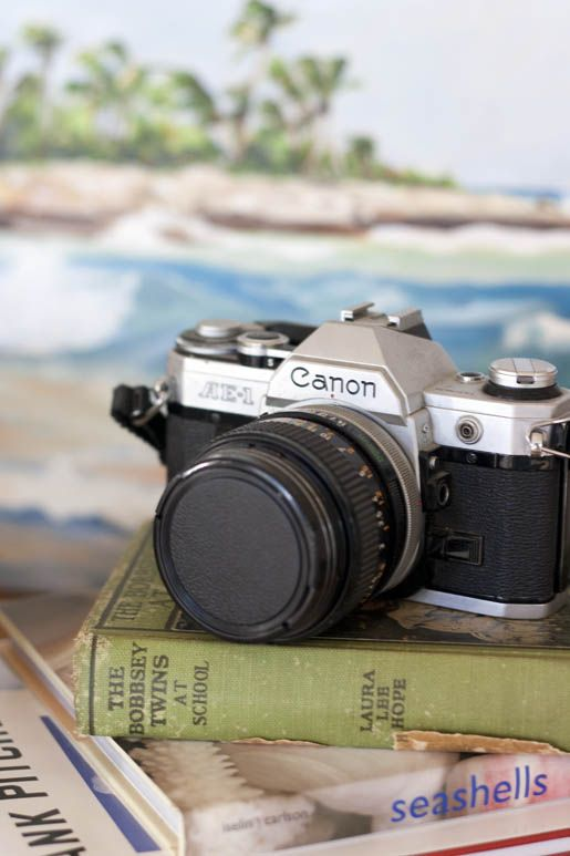 The Canon AE-1, a market leader beginning in the 1970s