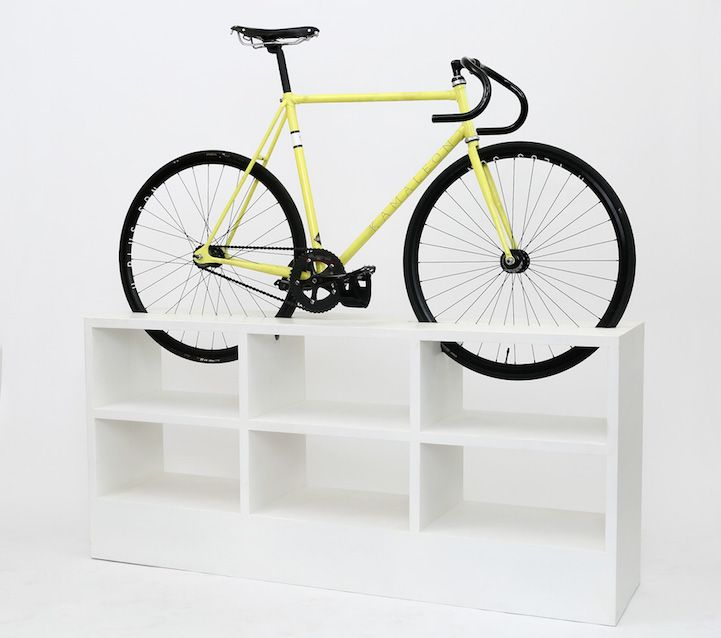 474 best cool creative bike shop ideas images on for Cool bike storage ideas