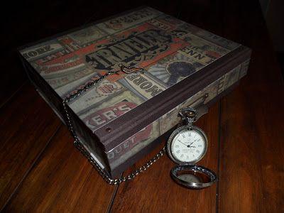Caja guarda-relojes