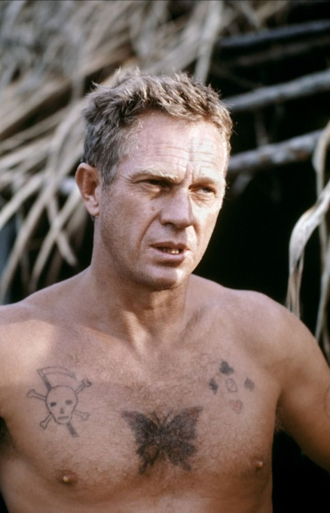 Steve McQueen in Papillon by Franklin James Schaffner, 1973