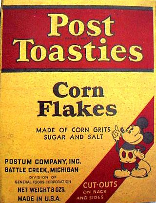 Kellogg's Cereal Boxes back in the 1880's | previous next about this image title 1935 post toasties corn