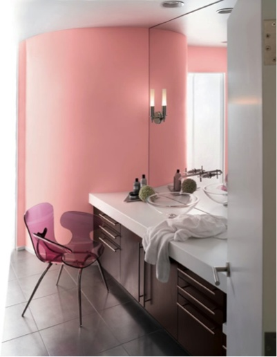 Resounding rose sw 6318 paint colors for bathrooms for Southwest bathroom paint colors