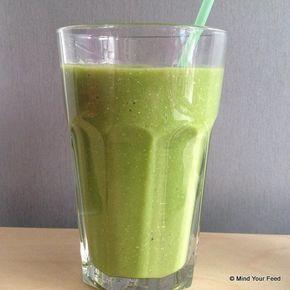 Wortel – avocado – mango – sinaasappel smoothie