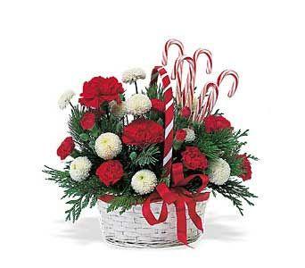 christmas floral arrangements | Christmas Flower Centerpieces | Christmas Silk Flowers| Artificial ...