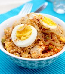 Chicken Pilau (or Leftovers Rice)