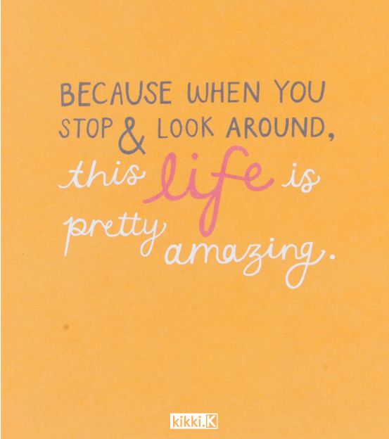 Amazing Life Quotes Images: Because Life Is Amazing. Happiness Quote Cards By Kikki.K