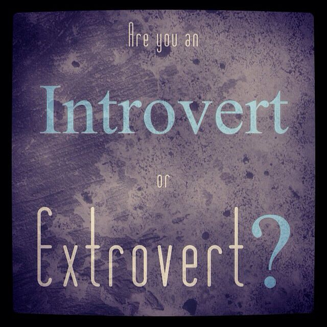 Discover your MBTI type on my website. This week we are looking at the Introvert / Extrovert preferences.