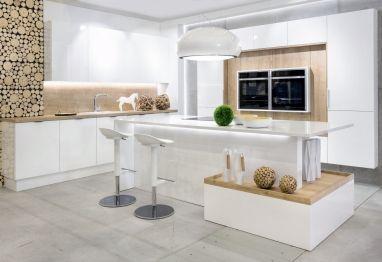 Co powiedzie na wysokie hockery, jako element #mebli #kuchennych? Naszym zdaniem idealnie pasują do nowoczesnych kuchni! http://www.vigomeble.pl/