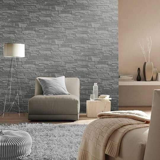 M s de 25 ideas incre bles sobre papel tapiz gris en for Binnenhuisinrichting foto s