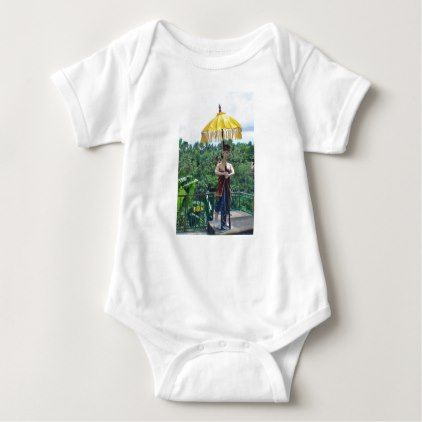 Vacation in Bali Baby Bodysuit - honeymoon gifts giftidea ideas wedding