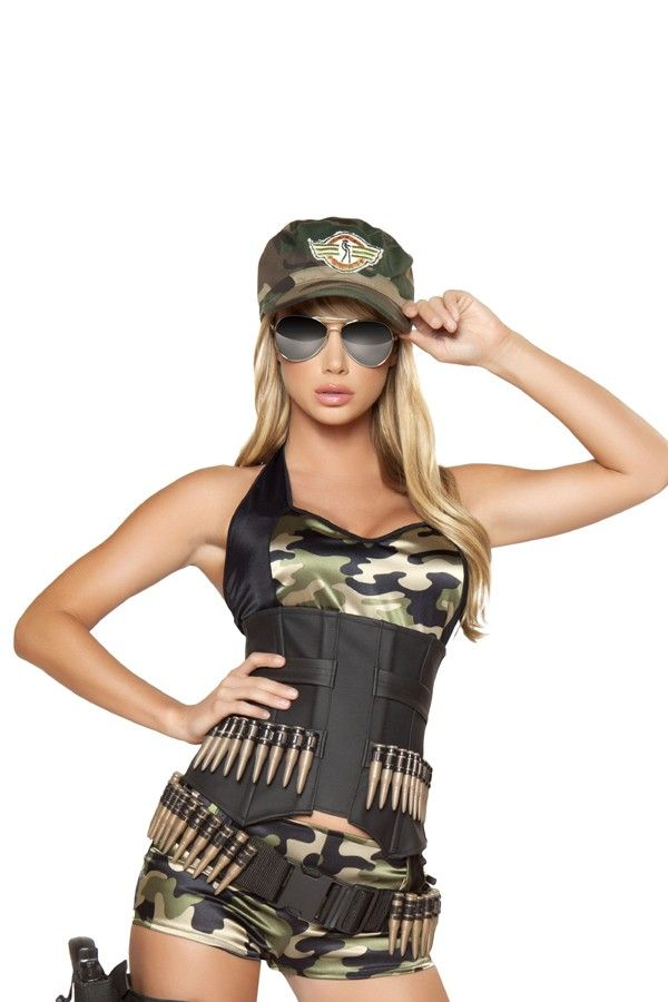 5 PC. ARMY COSTUME