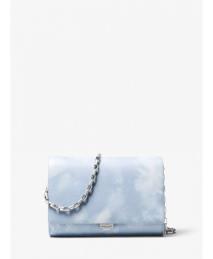 66dc37691aef Michael Kors Artic Yasmeen Tie-Dye Leather Clutch 31S8NYAC1A-0132 ...