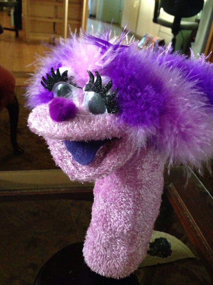 A human sock puppet - 2 9