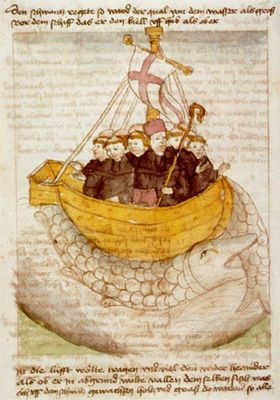 St. Brendan and his miraculous food: heavenly meals for a legendary voyage - Medievalists.net