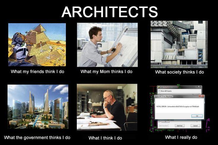 What Do Architects Do architect: een persoon die bvb. gebouwen ontwerpt. | beeldende