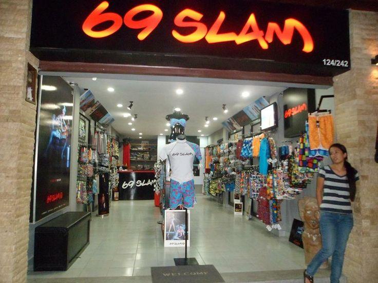 69SLAM store on Chaweng Road, Ko Samui, (Thailand). www.69slam.com