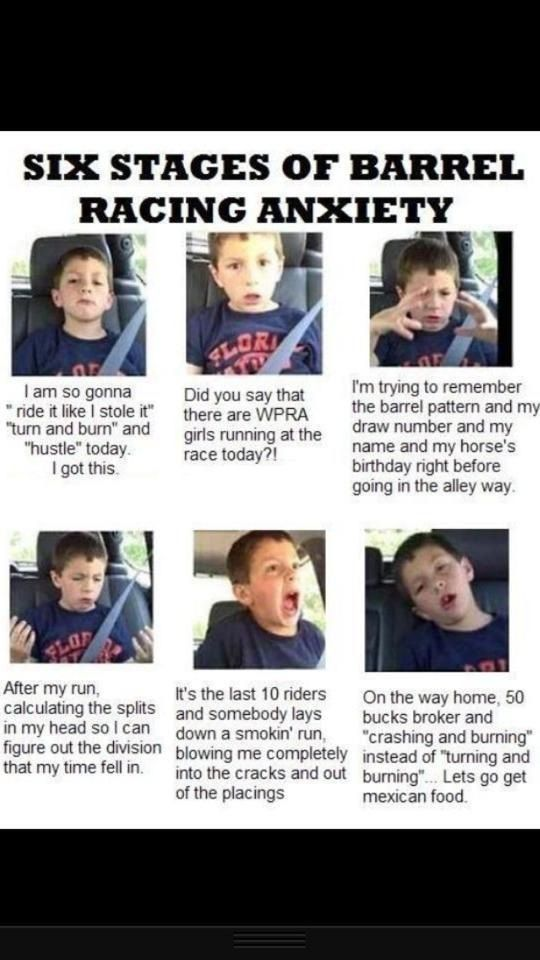 THIS IS ME!  I'm not gonna lie, this was every freakin' run I did.