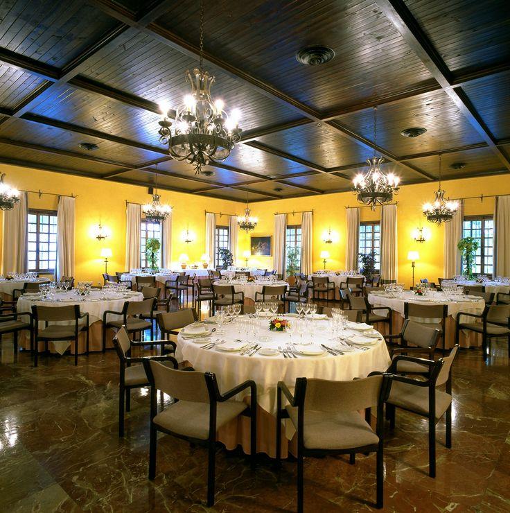 #parador de #tordesillas #bodas con #encanto #rusticChic #salon #banquete