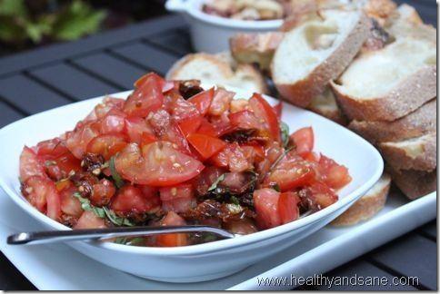 double tomato bruschetta | FOOD!!!! (& Drinks!) | Pinterest