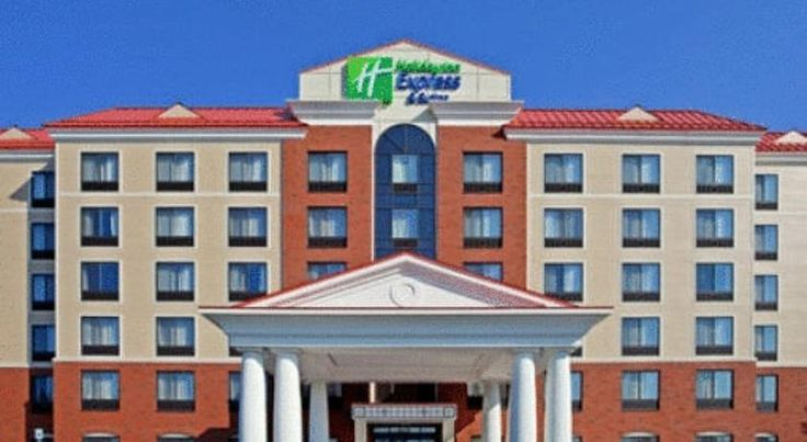 Holiday Inn Express Hotel & Suites Latham Latham Located in downtown Latham, this hotel provides free shuttle services to Albany International Airport, just 6 miles away. The Holiday Inn features an indoor pool and rooms with free Wi-Fi.