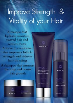 3 super amazing products of Monat.Gave my hair moisture, volume and length finally!!