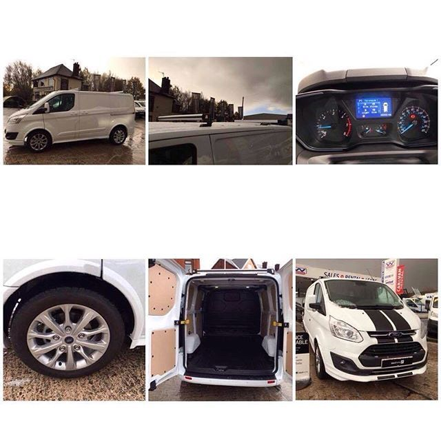 """🚨 SALE 🚨 Brand New Euro 6 Ford Custom Sport! Finished In White With Colour Coded Bumpers And Mouldings The Model Is L1 H1 170ps With Huge Range Of Spec Including: Full Electric Pack Part Leather Interior Bluetooth Connectivity Cruise Control Air Con Front And Rear Parking Sensors Colour Reversing Camera 18"""" Alloys Auto Wipers Auto Lights LED Rear Lighting INCLUDES EXTRAS - SAT NAV AND FOLDING ROOF BARS!! Plus Much More!! New With Delivery Miles, Covered Under Ford Manufacturer Warranty…"""