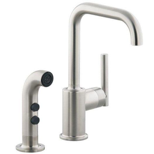 Hi Rise Kitchen Faucet No Side Sprayer
