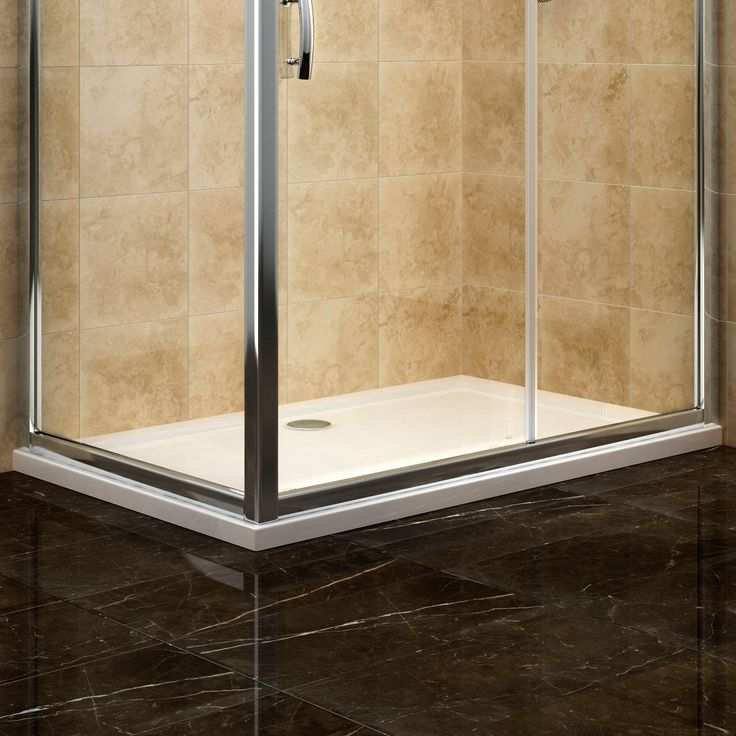 Cooke & Lewis Low Profile Rectangular Shower Tray (L)1400mm (W)900mm | Departments | DIY at B&Q