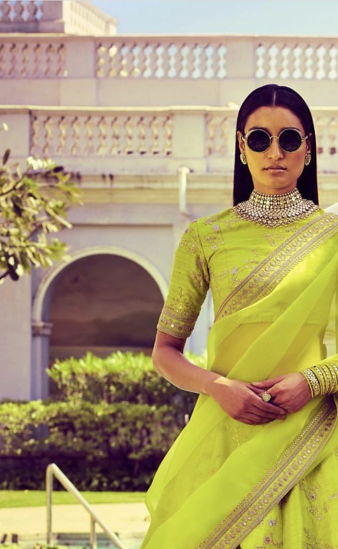 64a5348d58b1 Sabyasachi spring summer 2018 | my style | Indian wedding sari ...