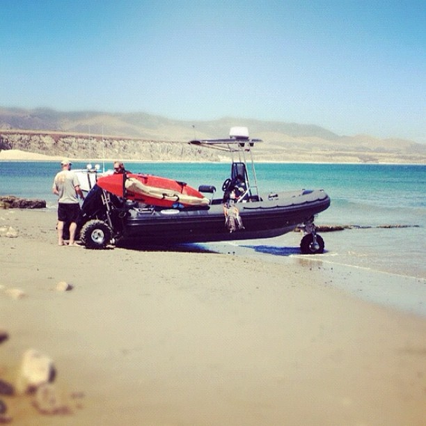 Packed with everything needed for a great day out on the water  From @above_the_reef - Instagram