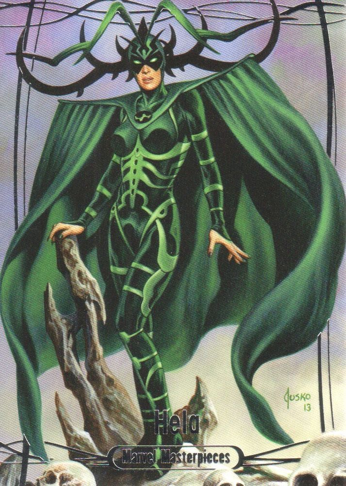 Hela (2016 Marvel Masterpiece)
