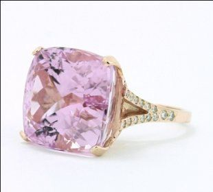Kunzite Cocktail Ring