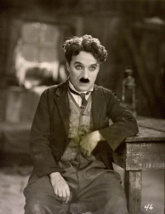 Because Charlie Chaplain is a very iconic actor from the 1920's.