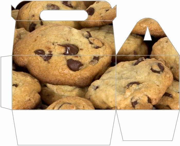 CHOCOLATE CHIP COOKIE BOX - PRINTABLE