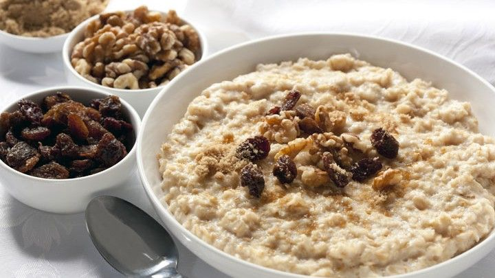 Start off your morning with this tasty and simple-to-make breakfast. By replacing regular oatmeal with barley, you are adding a more complex and fibrous grain to your meal.