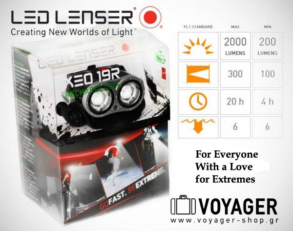 For Everyone With a Love for Extremes. 2.000lm -300m -20h  Extremely bright. Extremely active. Extremely well-tailored to your needs. The LED LENSER® XEO 19R. Order Now: http://www.voyager-shop.eu/…/…/seo-bicycle-el/xeo19r-7319-r/
