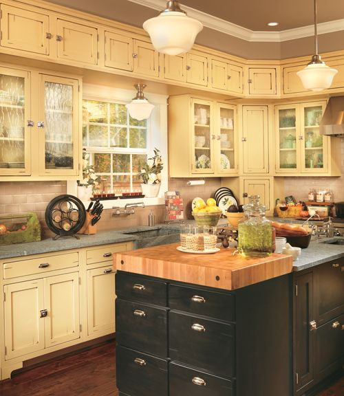 Rustic Yellow Kitchen: 14 Best Images About Kitchen On Pinterest