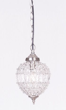 this is actually a smaller version of the pendants we're using over kitchen island (not great pic, but v pretty lights without being too chandeliery)... given the only other lights we'll have in house will be Foyer light and stairway light (rest is donwnlights) want to keep theme close-ish