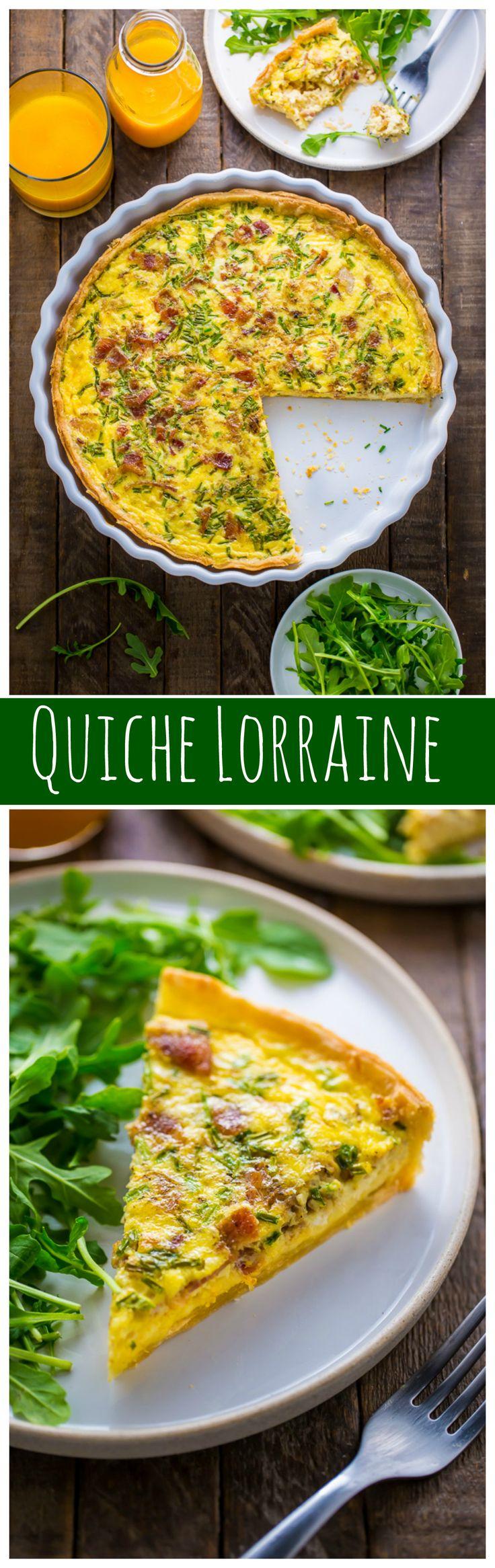 The BEST recipe for Quiche Lorraine!