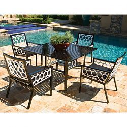 """Parkplace Contemporary Outdoor Dining Furniture ~ Patio for the """"Dining Area"""""""