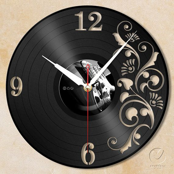 vinyl wall clock flower no1 by Anantalo on Etsy, ฿1100.00