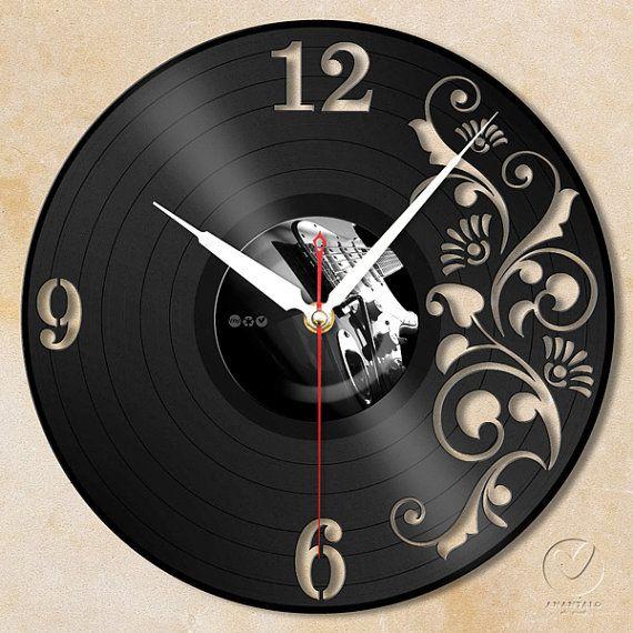 vinyl wall clock flower no.1 by Anantalo on Etsy, ฿1100.00