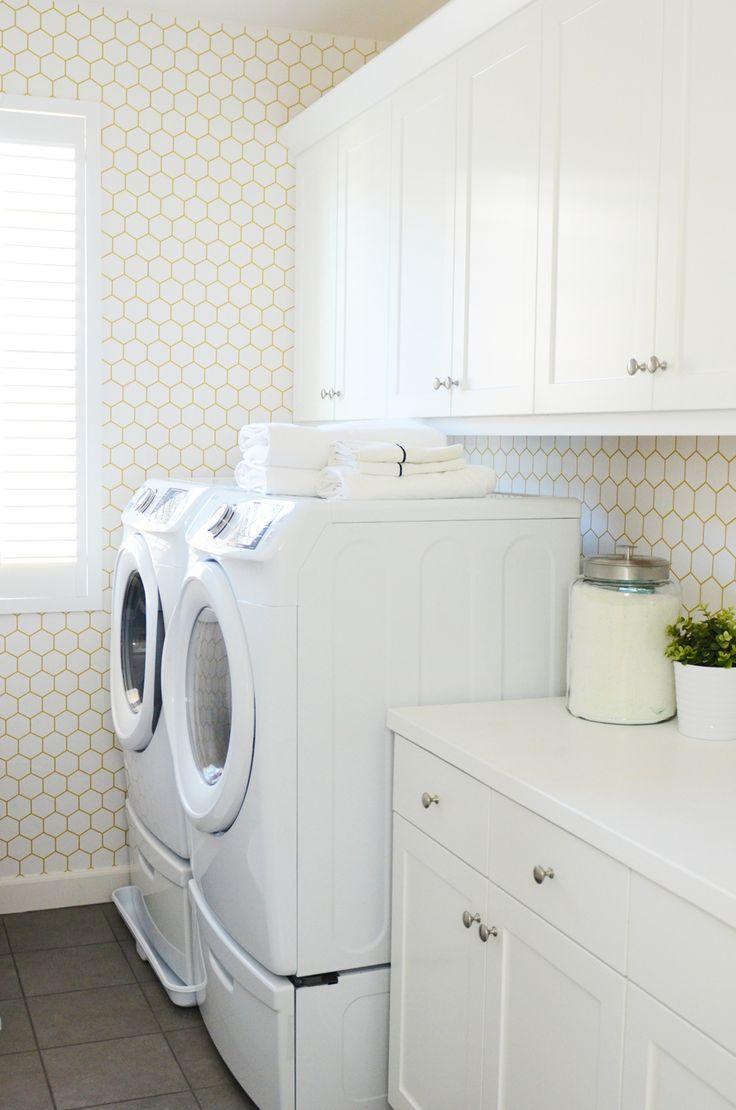 laundry room retro wallpaper - photo #3
