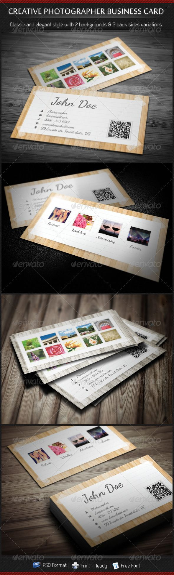 17 best pet sitting business cards images on pinterest dogs creative photographer business card magicingreecefo Gallery