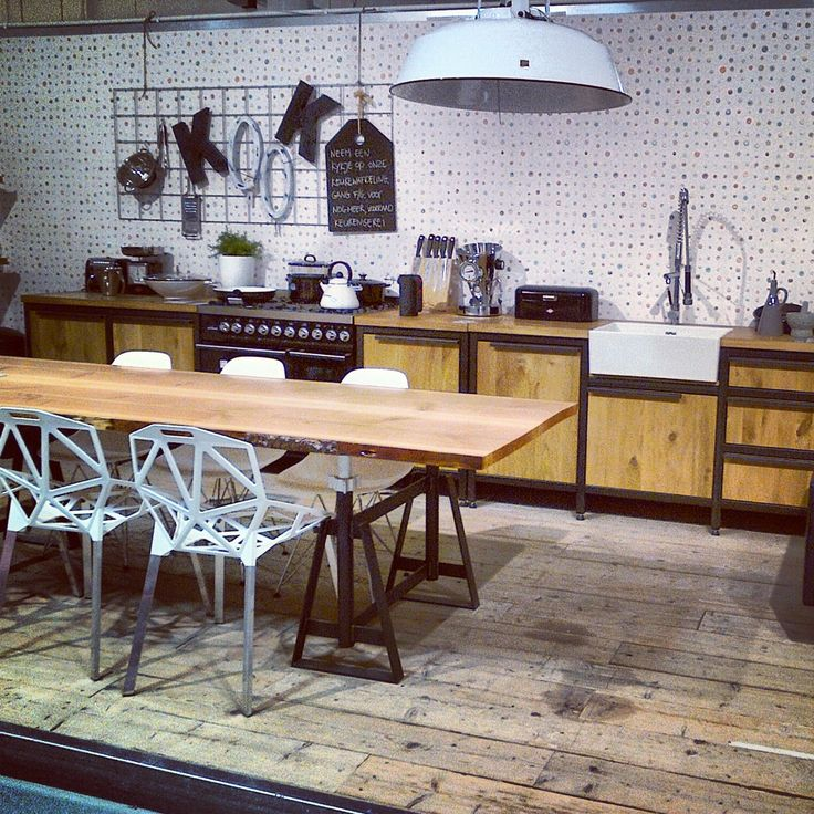 VM-Design Keuken + Tafel Schraag Tree @ Loods5 Zaandam