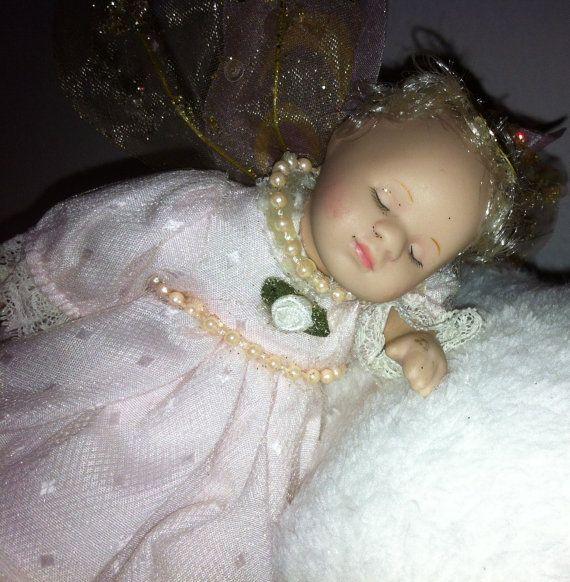 Sleeping Baby Angel by CandysDecor on Etsy, $25.00