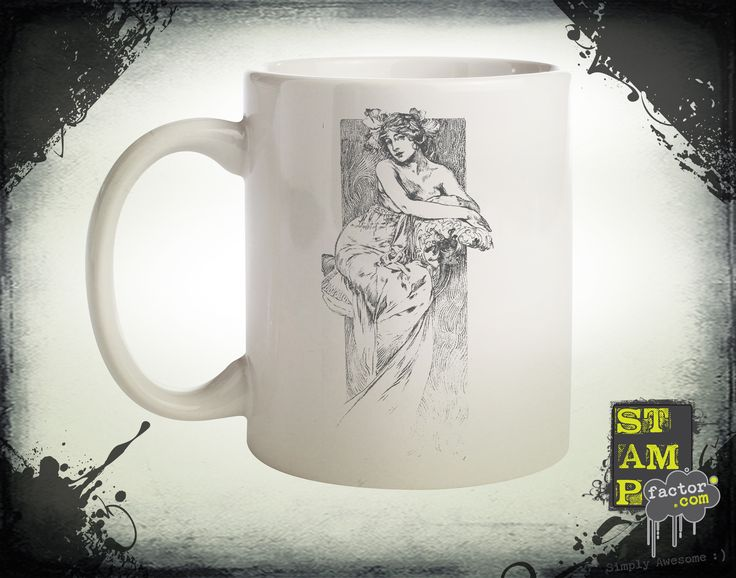 Nymph (Davy's Grey) 2014 Collection - © stampfactor.com *MUG PREVIEW*