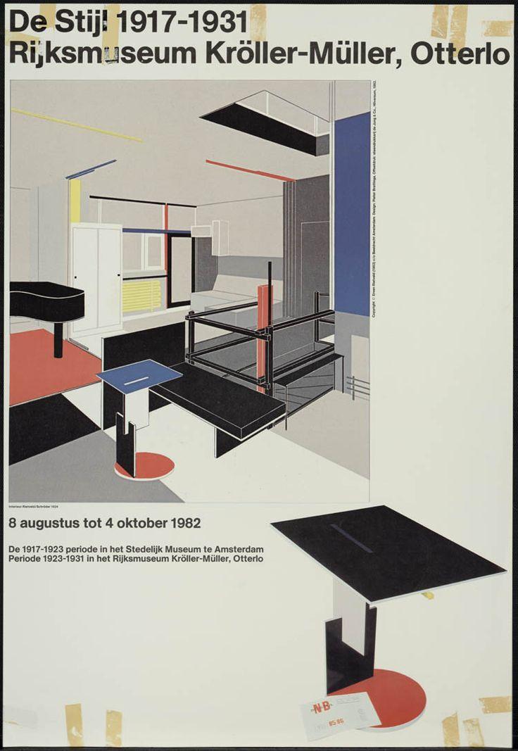 Pieter Brattinga, De Stijl 1917-1931, rijksmuseum Kröller-Müller Otterlo, 1982